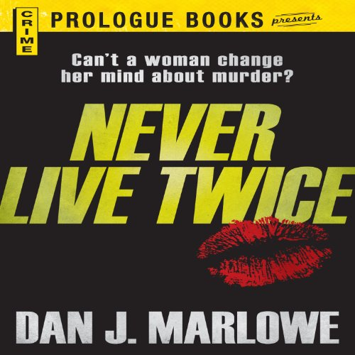 Never Live Twice audiobook cover art
