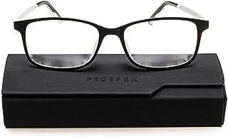Blue Light Glasses PROSPEK, Reading Model Arctic (+1.00 Magnification) for Women and Men, Anti Glare Clear Lens, Protect from Screen's Blue Light, 50% Blue Light Blocking High Optical Quality Lenses