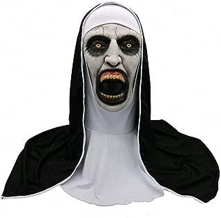 KEMANDUO Scary Death Horror Grimace Spirit Halloween Zombie Head mask Bloody mask.