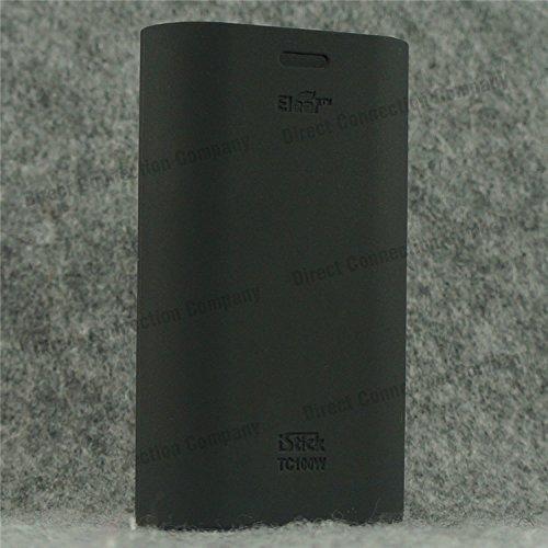 Silicone Case for eLeaf iStick TC100W Sleeve iStick 100w TC Skin TEMPERATURE CONTROL Cover Wrap! (BLACK)