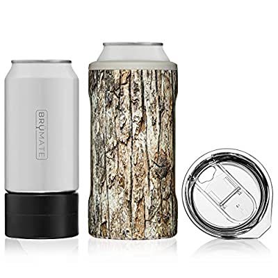 BrüMate HOPSULATOR TRíO 3-in-1 Stainless Steel Insulated Can Cooler, Works With 12 Oz, 16 Oz Cans And As A Pint Glass