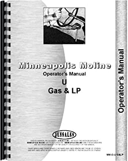 Minneapolis Moline UTU Tractor Operators Manual (Row Crop Narrow Front)