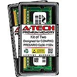 A-Tech 8GB (2 x 4GB) RAM for COMPAQ PRESARIO CQ56-115DX | DDR3 1066MHz SODIMM PC3-8500 204-Pin Non-ECC Memory Upgrade Kit