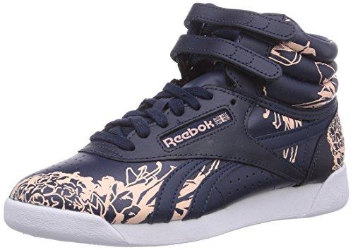 Reebok Classic F/S HI Graphics Schuhe Sneaker High Top Blau M45603, Größenauswahl:44