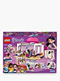 WXX Lego 235pcs Heart Lake City Hair Salon Rich assemblato Giocattoli educativi dei Regali di Compleanno dei Bambini stabiliti del Building Blocks