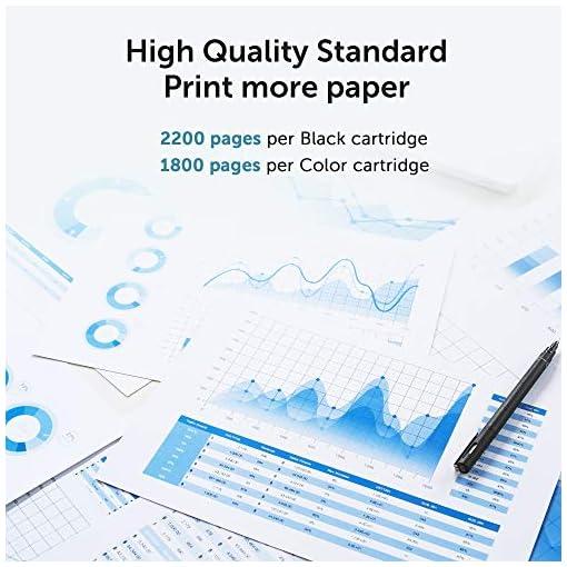 OFFICEWORLD Compatible HP 125A CB540A CB541A CB542A CB543A Toner Cartuchos para HP Color LaserJet CM1312 CM1312n… 2