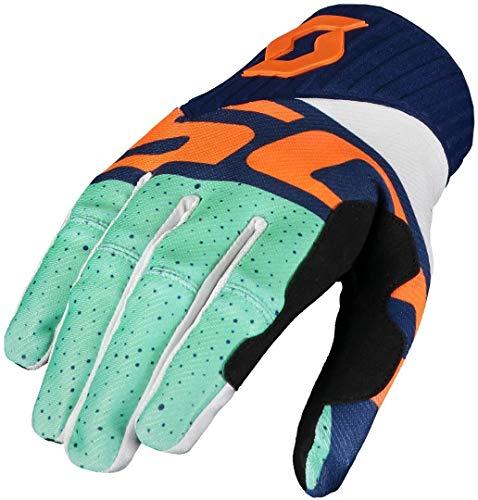 Scott Glove 450 track bleu/rouge L
