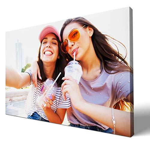 wandmotiv24 eigenes Foto Querformat 60x40cm auf Leinwand drucken Lassen, Ihr Fotodruck selbstgestalten eigenes Motiv, Leinwandbild, Fotogeschenk individuell