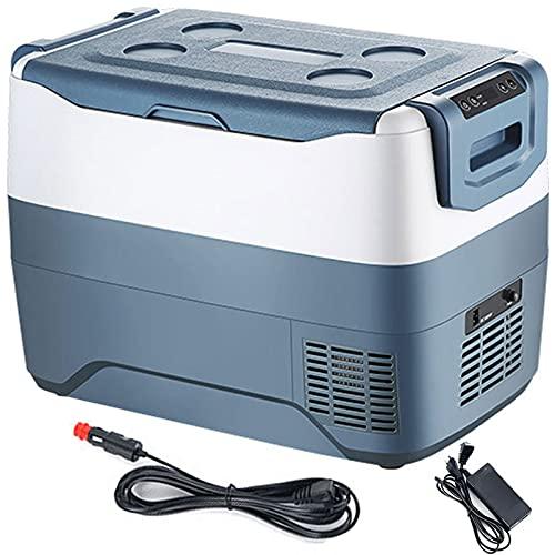 DWLOMHE Refrigerador, Refrigerador y Calentador de Insulina para Medicamentos Refrigerador Compacto con Alimentación De CA/CC, Refrigerador Portátil Refrigerador para Medicamentos de 2-8 ° C