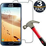 Best Protective Case For Galaxy S6s - [3 Pack] Samsung Galaxy S6 Screen Protector Tempered Review