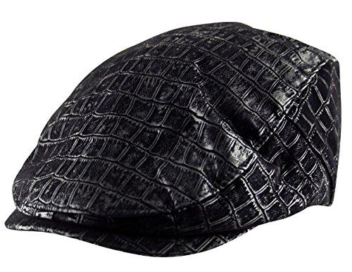 Itzu - Casquette souple - À Carreaux - Homme noir noir Taille Unique