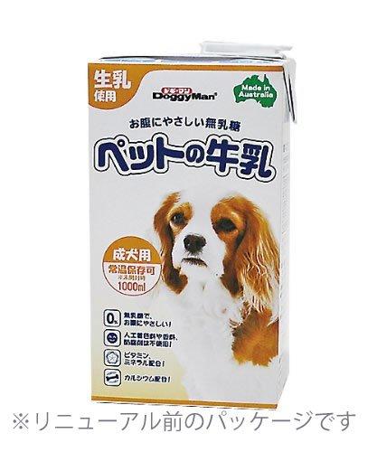 ドギーマンペットの牛乳成犬用1000ml