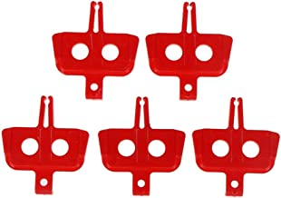 JDiction 4 Pairs V Bike Brake Pads with Hex Nuts and Spacers V Road Bicycle Brake Blocks Set 70 mm Configure the L-type installation tool