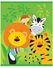 Unique Industries Animal Safari Goodie Bags, 8ct, Multicolor -