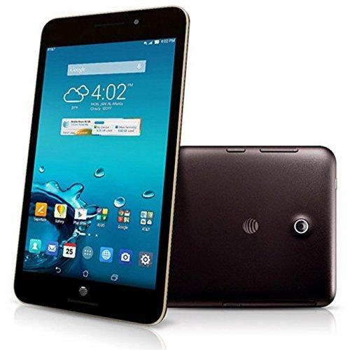 ASUS MeMo Pad 7 LTE GoPhone Tableta prepagada, Pantalla IPS de 7 Pulgadas, procesador Intel Atom Z3530 Quad Core de 1.33 GHz, 1 GB LPDDR3 RAM, 16 GB eMMC, WiFi, Bluetooth, Android OS (AT&T)