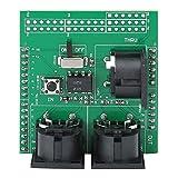 Goshyda Placa de conexión Midi Shield, Placa adaptadora Midi, para Adaptador de Interfaz Arduino Digital R3 AVI PIC