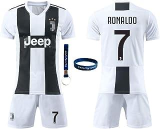3b180760f Daoseng Maglia Juventus 2018 2019 Tuta da Allenamento per Ragazzo Uniforme  da Calcio T-Shirt