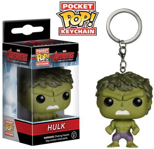 Funko - Pocket POP Keychain: Marvel - Avengers 2 - Hulk
