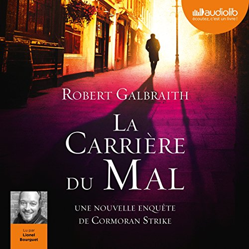La Carrière du mal audiobook cover art