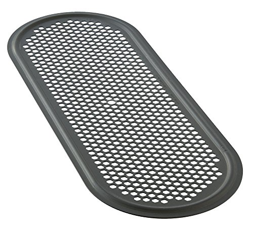 LloydPans Kitchenware 7 Inch by 18 Inch Perforated Flatbread Pan Made in the USA
