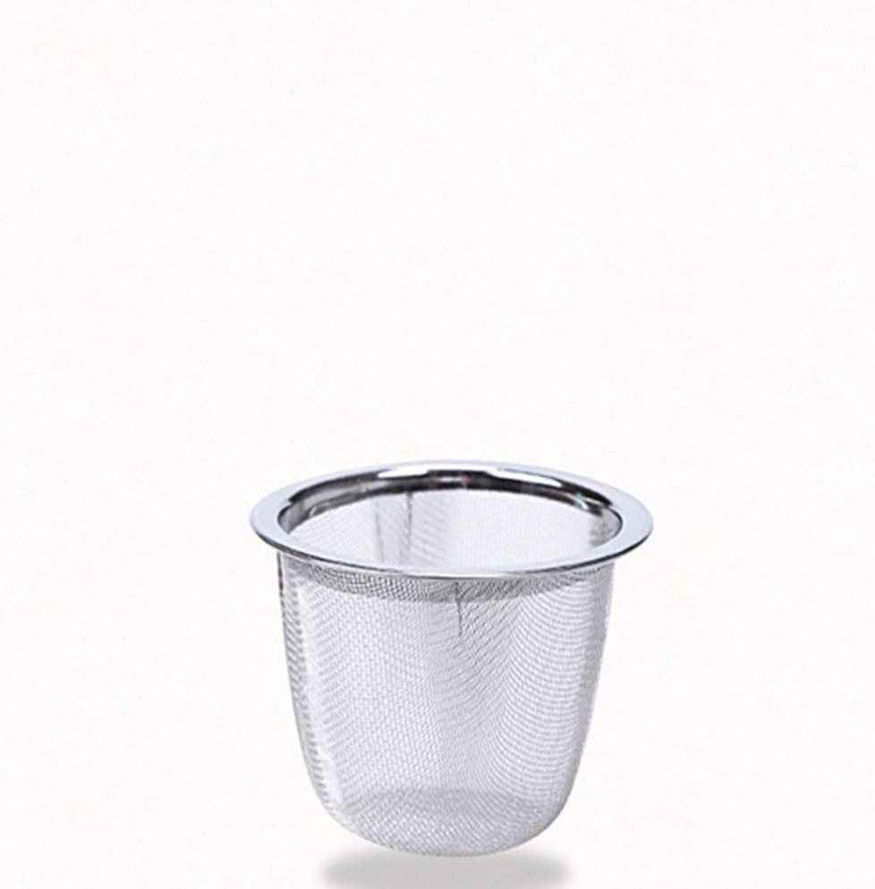 Yarnow 8pcs Stainless Steel Tea Filter Metal Teapot Replacement Mesh Strainer Insert for Coffee Tea Maker Coffee Brewers Diameter 7.2x6cm