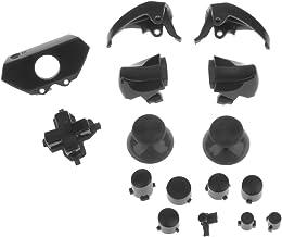 D DOLITY L2 R2 L1 R1 Thumbstick Cap Button Mod Set For Xbox One Game Console Black