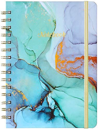 """Spiral Journal/Notizbuch - 8,4\""""x 6,3\"""" Liniertes Journal und Hardcover, College-Notizbuch/Journal, Hochwertiges Dickes Papier, Starke Zwillingsdrahtbindung, Perfekt für Schule, Büro und Zuhause"""