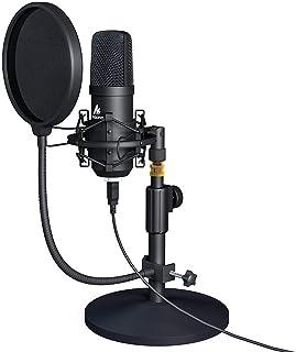 Kit de micrófono USB 192KHZ / 24BIT MAONO AU-A04T PC Condensador Podcast Streaming Cardioide Mic Plug & Play para computad...