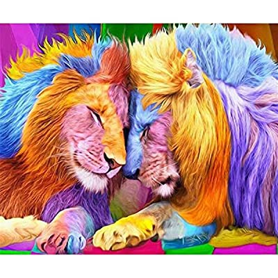 XUBX 5D Diamond Painting Kits for Adults,35x45c...