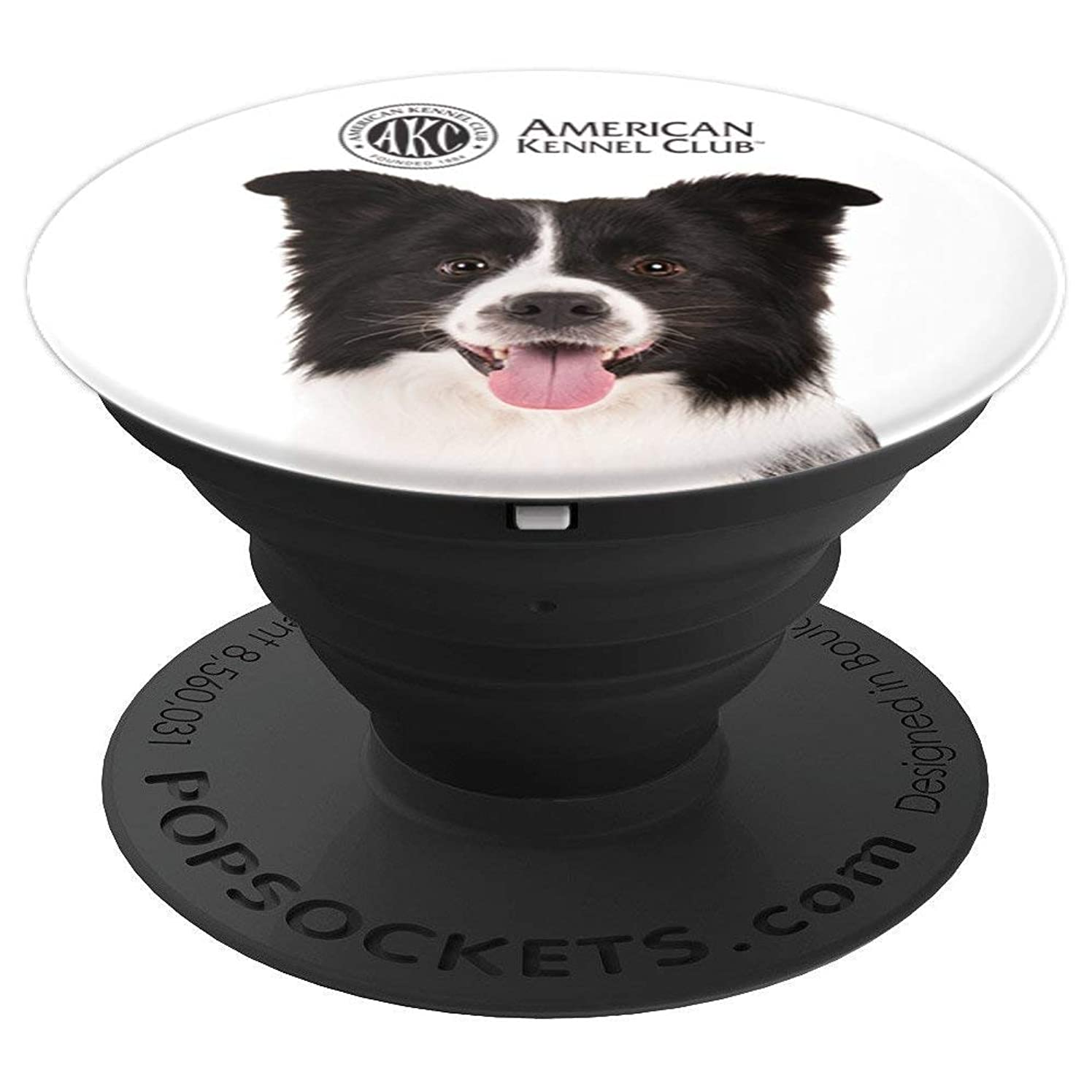 AKC Border Collie Photo PopSocket - PopSockets Grip and Stand for Phones and Tablets