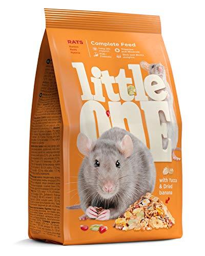 Little One Alleinfutter für Ratten im Beutel, (1 x 900 g)