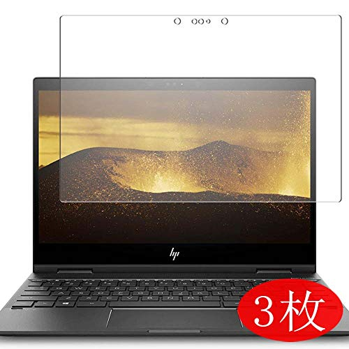 3-Pack Vaxson Screen Protector Compatible with HP ENVY x360 13-ag0000 Series 13.3', Ultra HD Film Protector [NOT Tempered Glass] TPU Flexible Protective Film