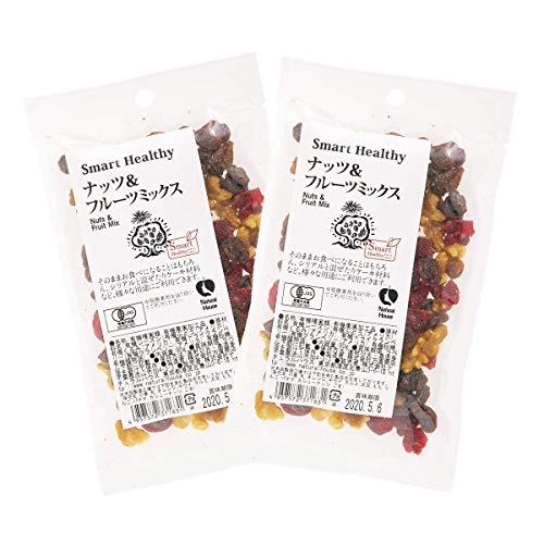 [ナチュラルハウス] ドライフルーツ ナッツ&フルーツミックス 80g×2袋 オーガニック
