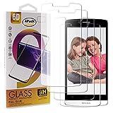 Guran 4 Paquete Cristal Templado Protector de Pantalla para TP-Link Neffos C5L Smartphone 9H Dureza Anti-Ara?azos Alta Definicion Transparente Película