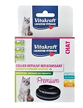 Vitakraft Collier Insectifuge Réfléchissant Chat