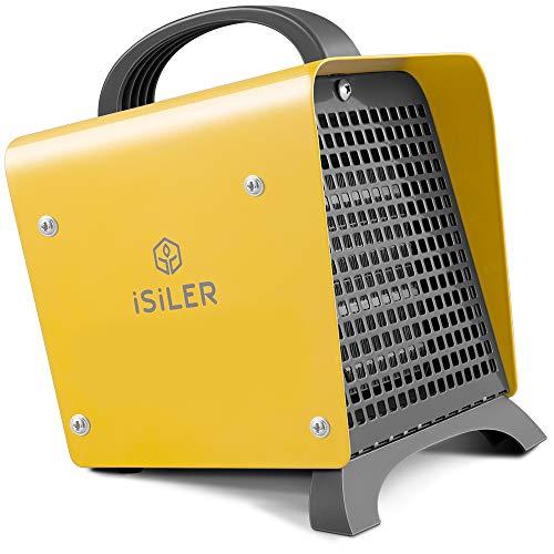 【2018最新バージョン】ファンヒーター iSiLER セラミックヒーター 電気ストーブ 1200W 6畳対応 2秒即暖 PS...
