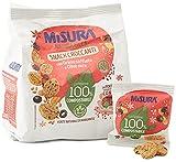 Misura Snack Croccanti Natura Ricca   Con Grano Soffiato e Olive Nere   Confezione da 224 grammi