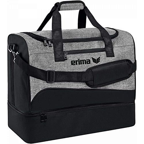 Erima Tasche Club 1900 2.0, schwarz/grau melange, L, 7232002