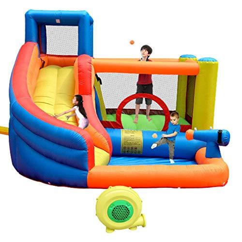 Aoutdoor Kindergarten Hüpfburgen Mit Slide Inflatables Im Freien Planschbecken