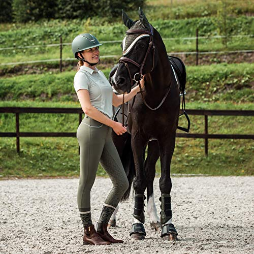 Product Image 7: HORZE Nordic Performance Sporty Silicone Grip Full Seat Equestrian Horseback Riding Pants Breeches