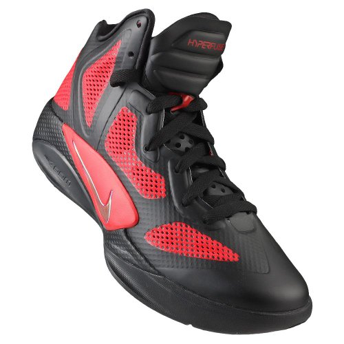 Nike Zoom Hyperfuse 2011 001, Rosso (Colore: rosso), 45 EU