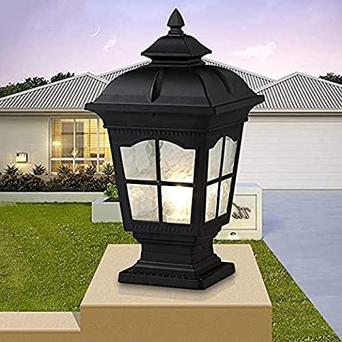 YMLSD Wall Lamps Square Clearance SALE Excellence Limited time Villa Aluminium Courtyard Di Post Light
