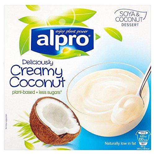 Alpro Soia Dessert Con Cocco 4 Pack 125G