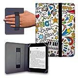 Funda para Libro electrónico eReader eBook de 6 Pulgadas - Woxter, Tagus, BQ, Energy, SPC, Sony, Inves, Papyre, Wolder, Nolim - 6' Universal - elástico (11)