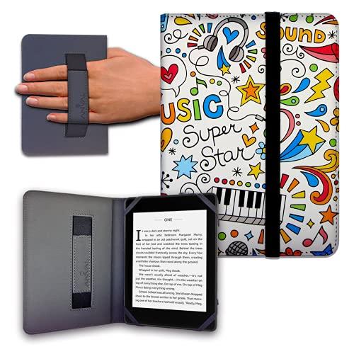 Schutzhülle für eReader eBook, 6 Zoll (15,2 cm), Woxter, Tagus, BQ, Energy, SPC, Sony, Inves, Papyre, Wolder, Nolim, 15,2 cm, elastisch, 11 Stück