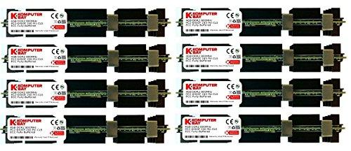 Komputerbay - Módulos de memoria 32GB (8x4GB) DDR2 PC2-6400F 800MHz ECC Fully Buffered FB-DIMM (240 PIN), esparcidores de calor para los ordenadores de Apple