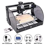 MYSWEETY CNC 3018PRO-M Mini CNC Machine, with Offline Controller GRBL Control DIY Engraving CNC Router, 3 Axis Pcb...