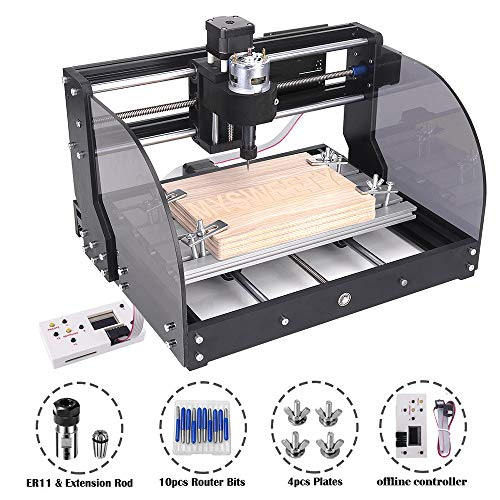 MYSWEETY CNC 3018PRO-M Mini CNC Machine, with...