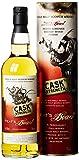 Peat's Beast Cask Strength Pedro Ximenez Sherry Wood Finish mit Geschenkverpackung (1 x 0.7 l) -