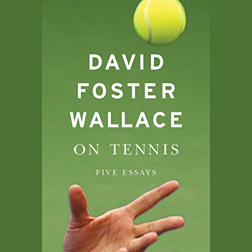 On Tennis audiobook cover art
